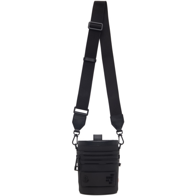 Photo: Moncler Genius 2 Moncler 1952 Black Bucket Bag