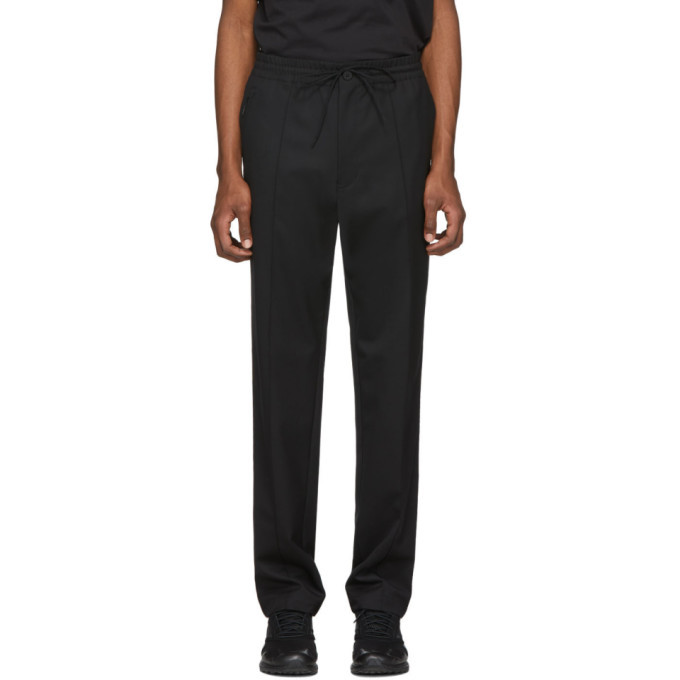 Photo: Y-3 Black Wool Lounge Pants