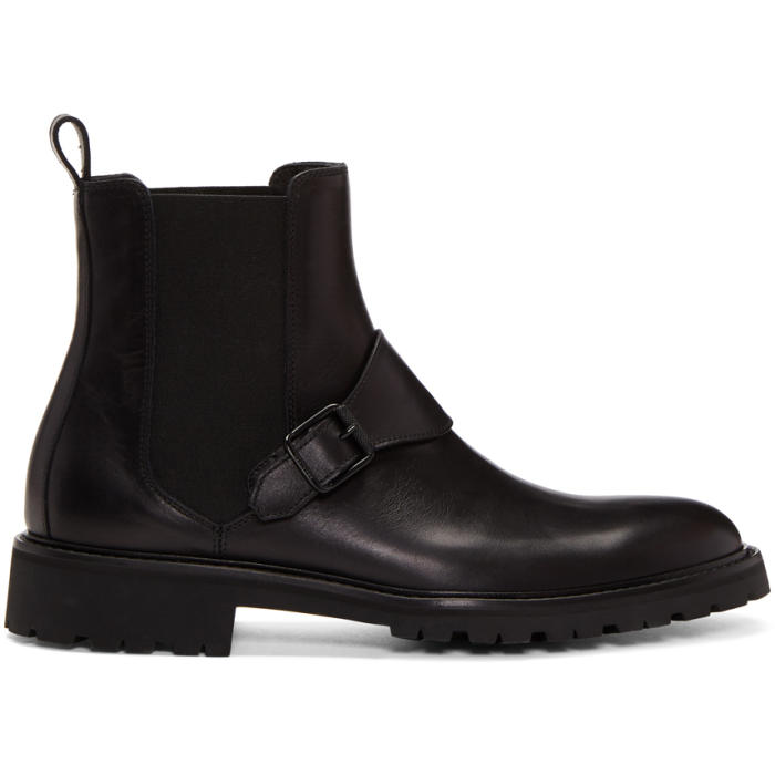 Belstaff Black Plaistow Boots