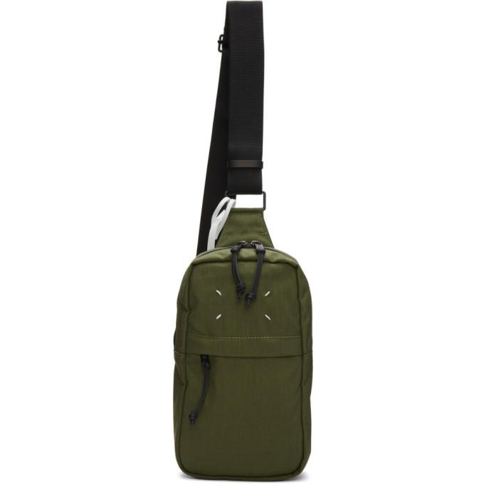 Photo: Maison Margiela Green Crossbody Backpack