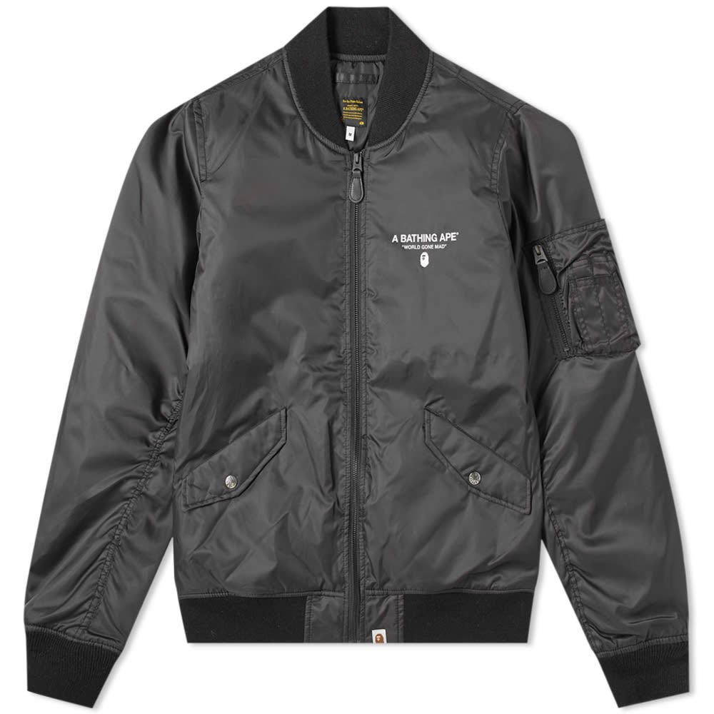 Photo: A Bathing Ape MA-1 Jacket