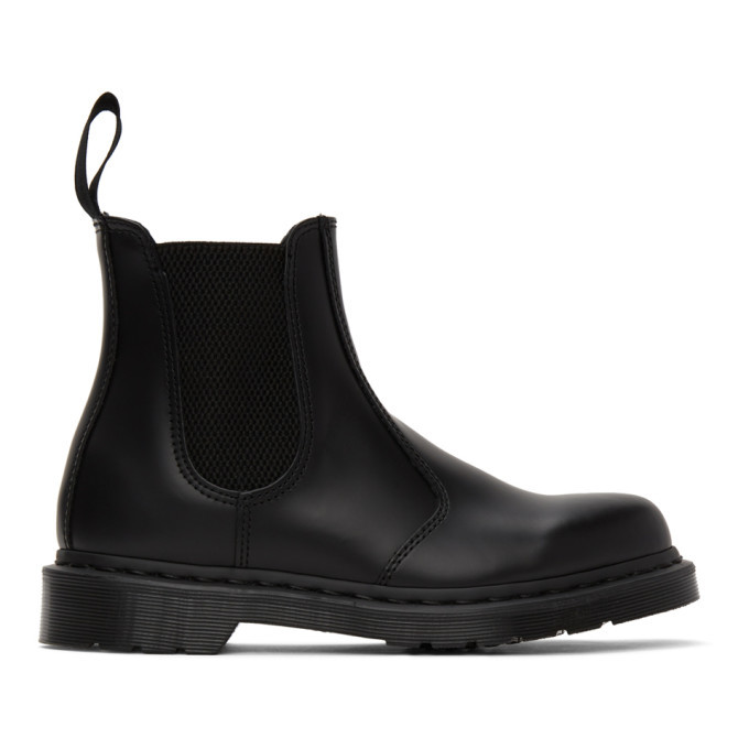 Photo: Dr. Martens Black 2976 Mono Chelsea Boots