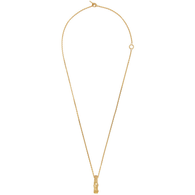 Photo: All Blues Gold Rauk Necklace