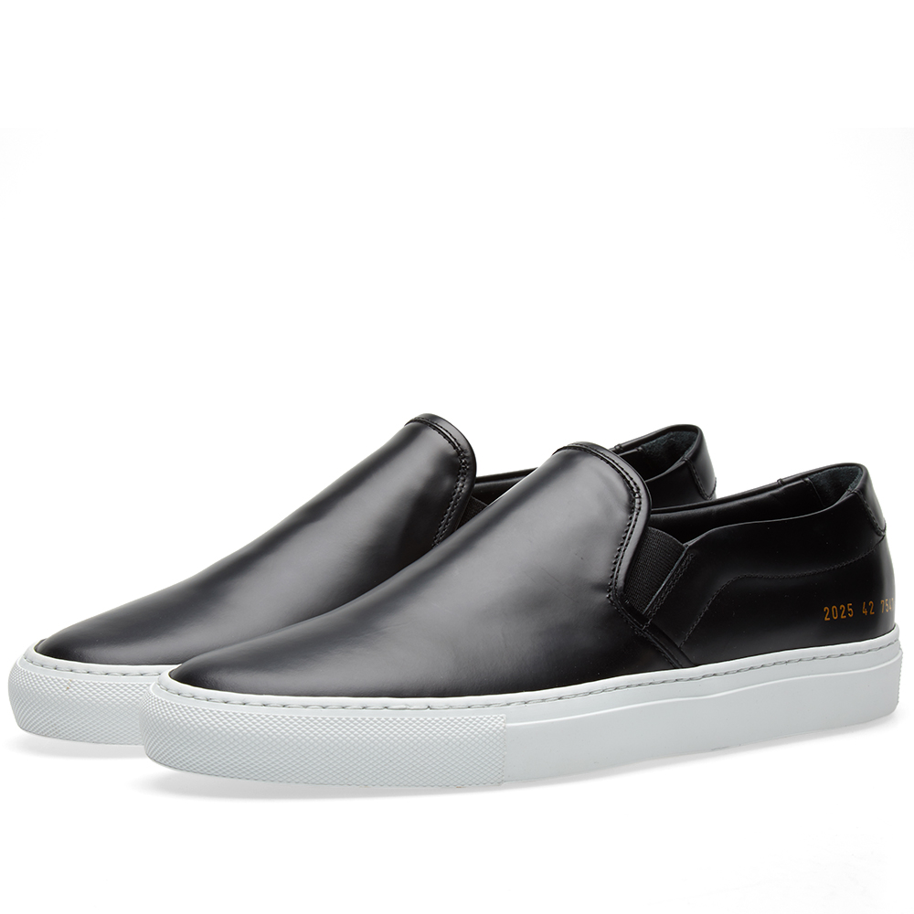 Common Projects Slip On Leather