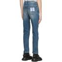 MCQ Indigo Washed Jeans