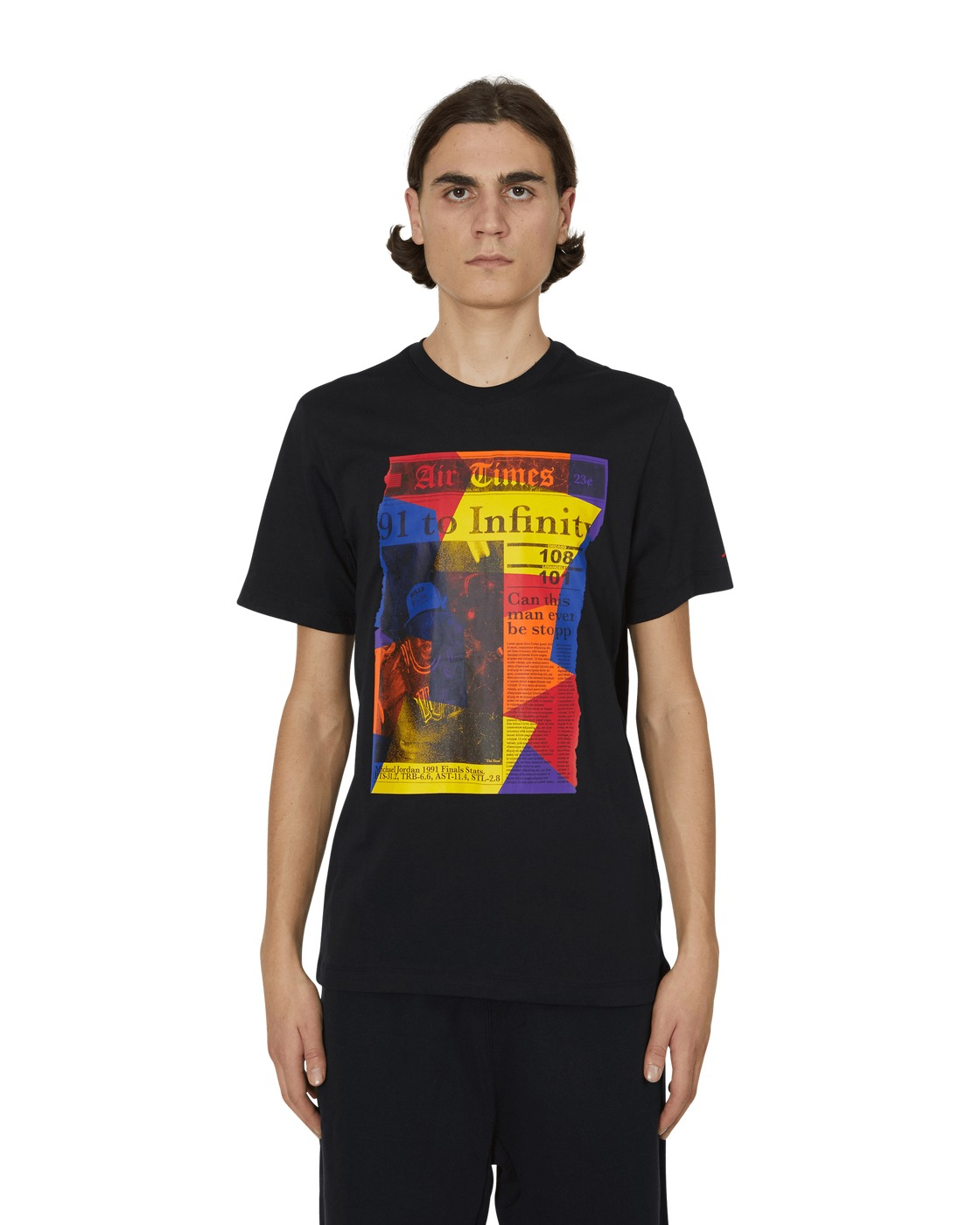 Nike Jordan Rivals Hbr T Shirt Black