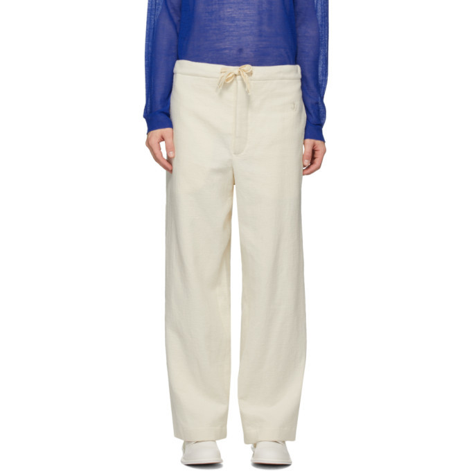 Photo: Jil Sanderand Off-White Pyjama Lounge Pants