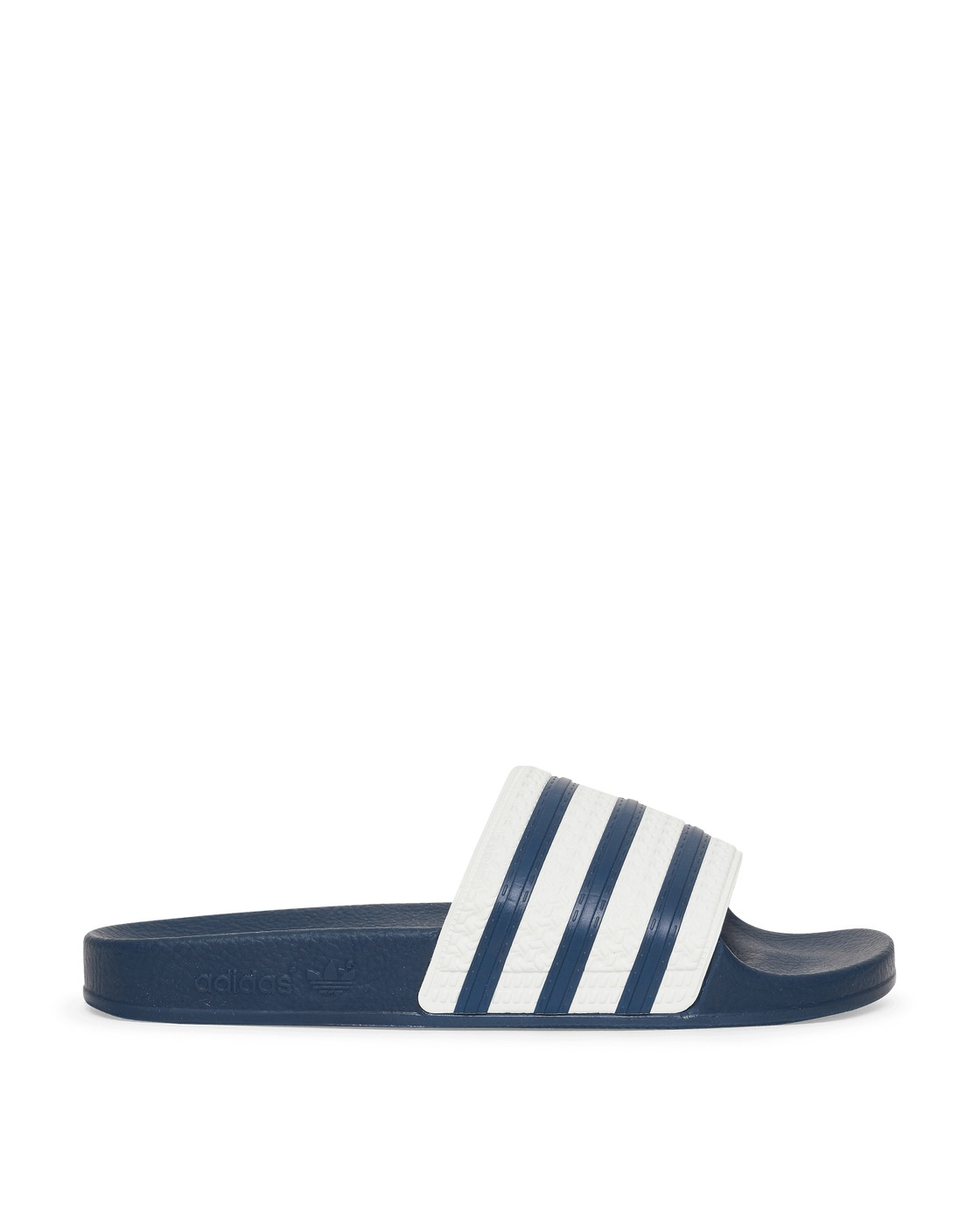 Photo: Adidas Originals Adilette Slides Adiblu/Wht