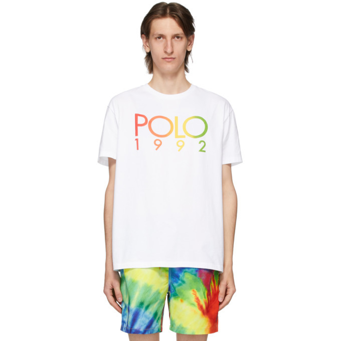 Photo: Polo Ralph Lauren White Logo T-Shirt