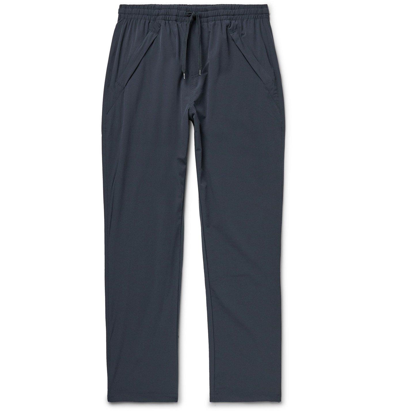 Photo: Adsum - Site Nylon Drawstring Trousers - Blue
