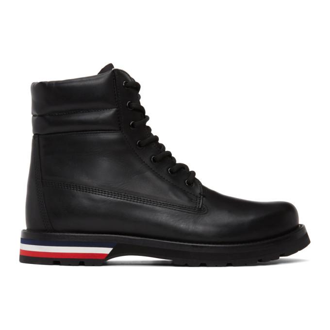 Photo: Moncler Black Vancouver Boots