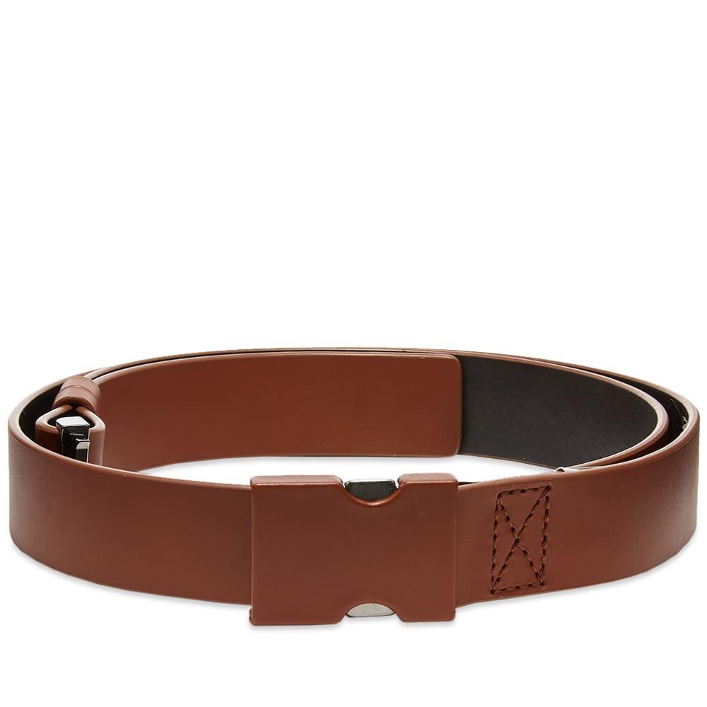 Photo: Maison Margiela Leather Clip Belt