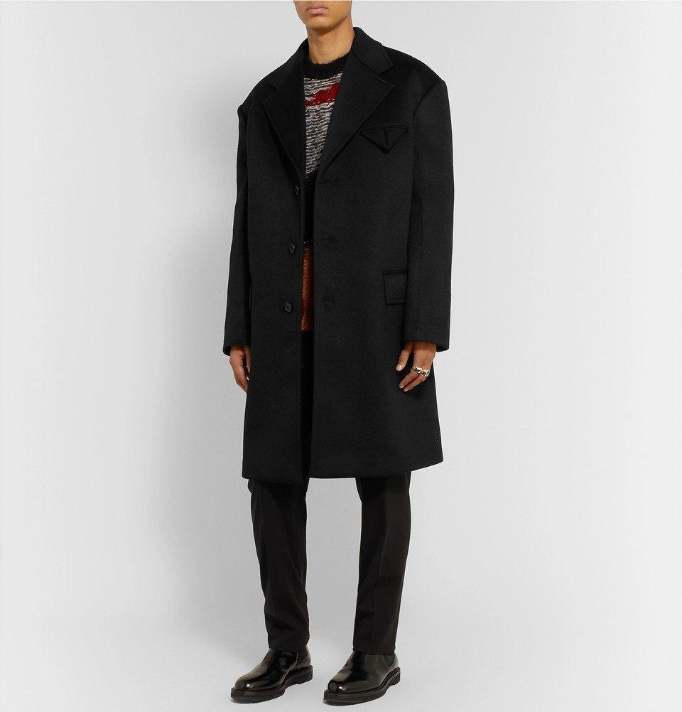 Bottega Veneta - Oversized Cashmere Coat - Black