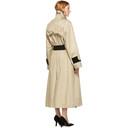 Nina Ricci Beige Cotton Trench Coat