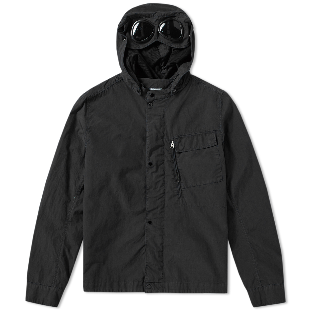 C.P. Company Garment Dyed Detachable Goggle Overshirt