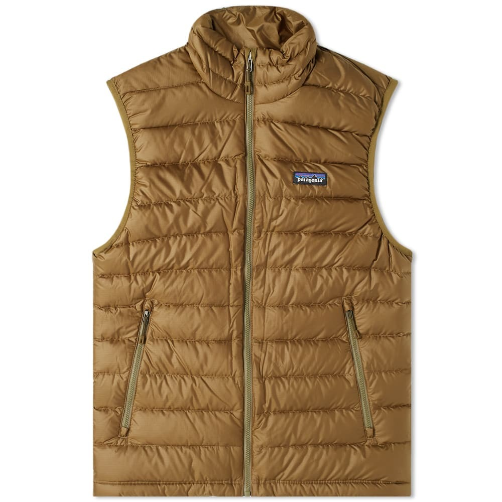 Photo: Patagonia Down Sweater Vest Green