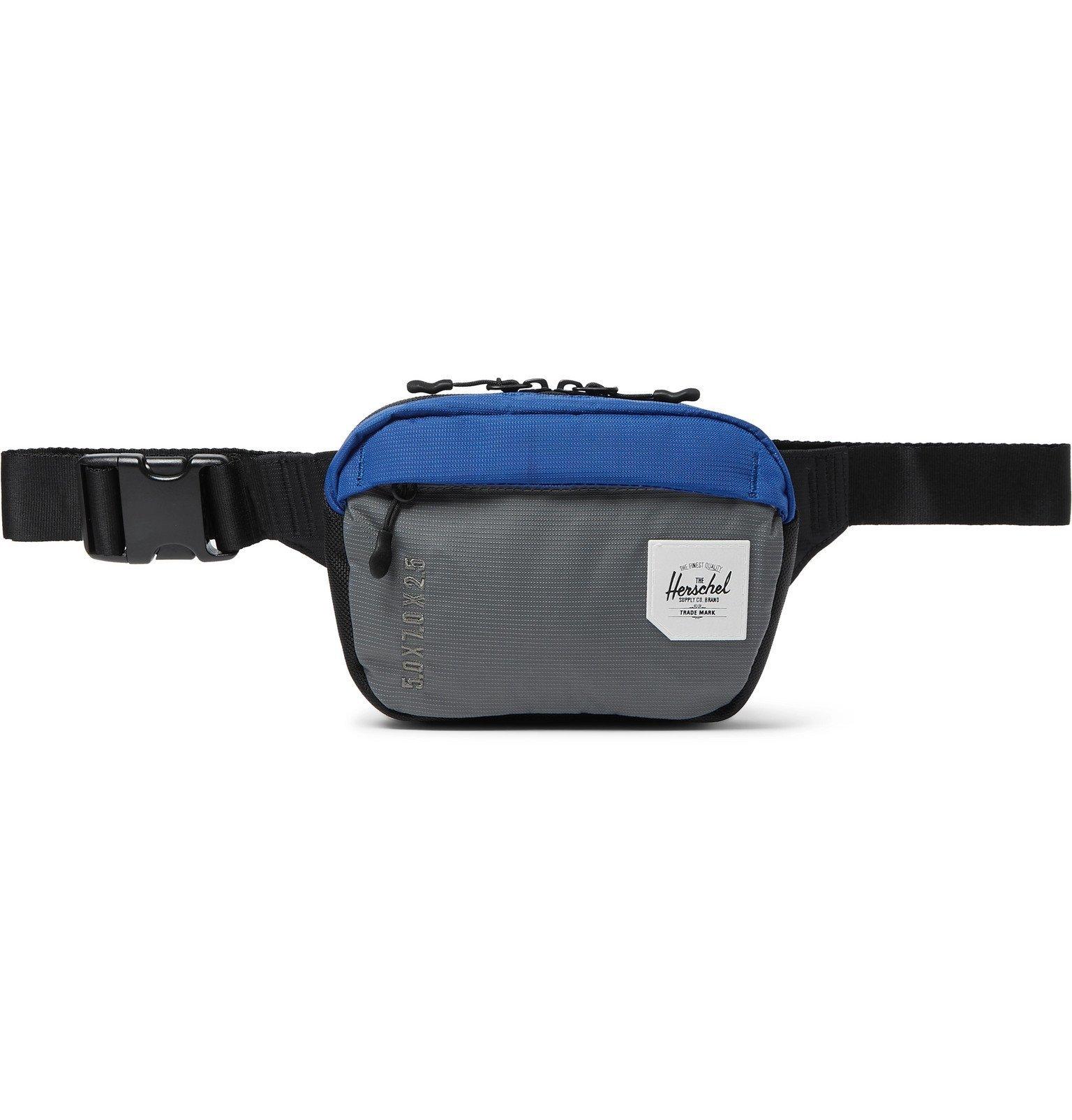 Photo: Herschel Supply Co - Tour Small Dobby-Nylon Belt Bag - Blue