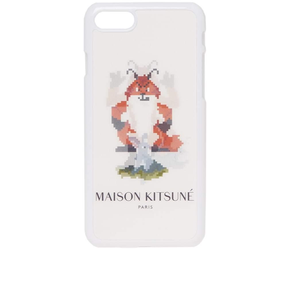 Photo: Maison Kitsuné Hologram Fox Pixel iPhone 8 Case