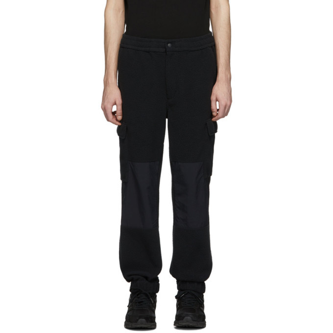 Photo: The Very Warm Black Fleece Cargo Pants