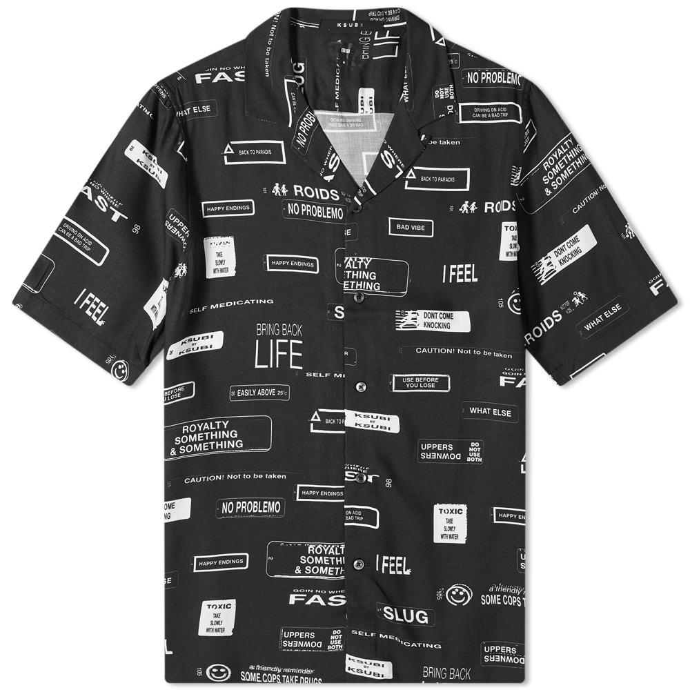 Ksubi You've Been Warned Vacation Shirt