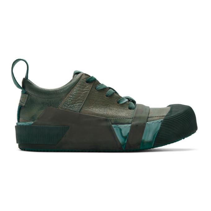 Photo: Boris Bidjan Saberi Green Bamba2 Sneakers