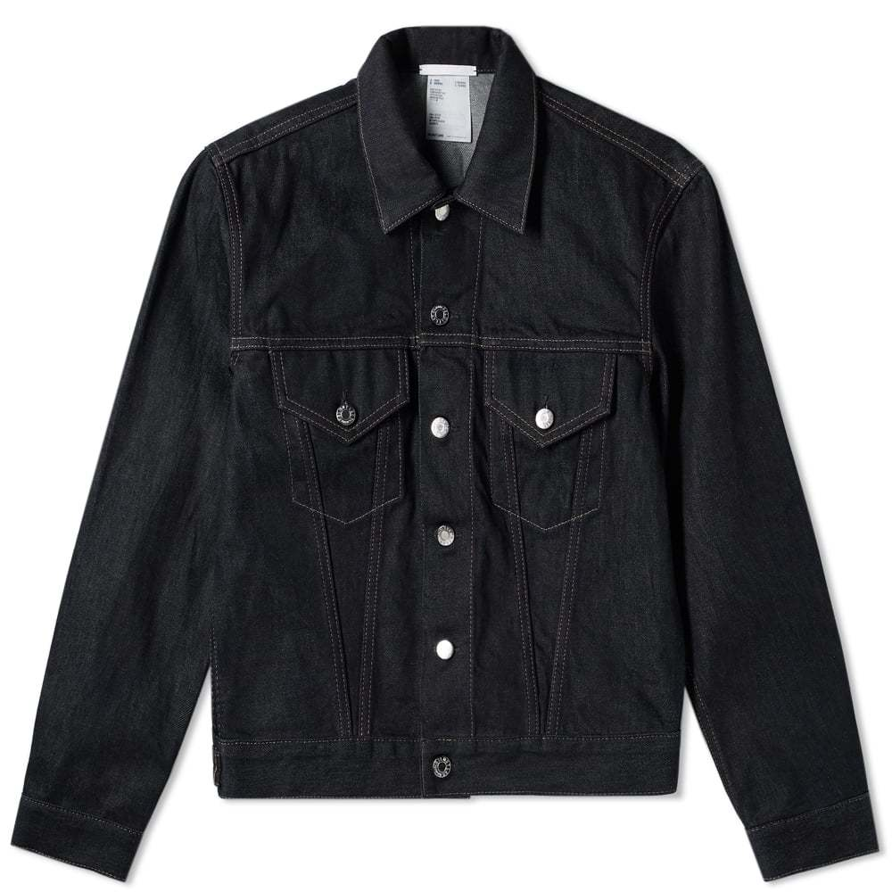 Photo: Helmut Lang Masc Trucker Denim Jacket Indigo