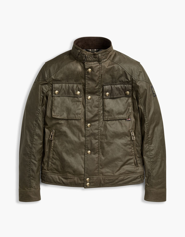Photo: Belstaff Racemaster Blue