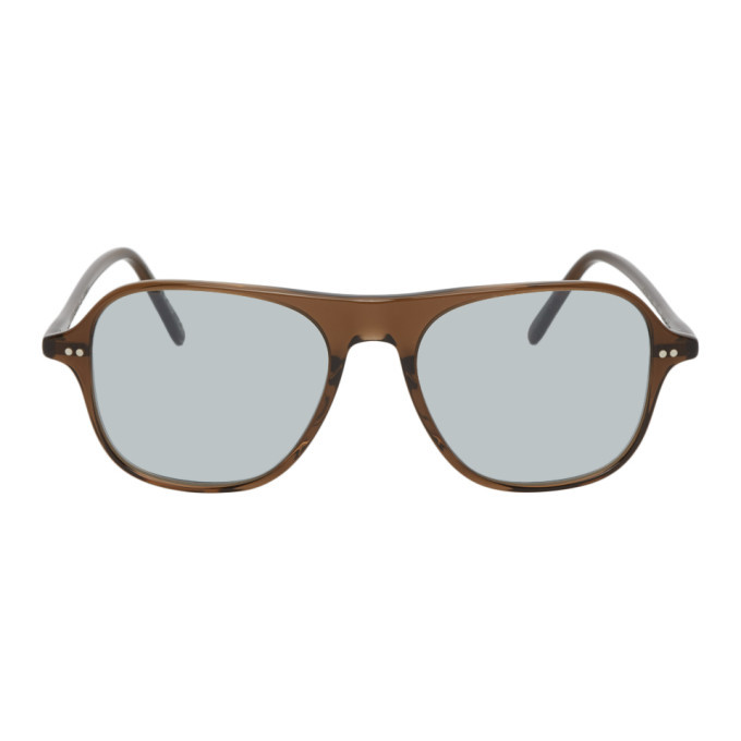 Photo: Oliver Peoples Brown Square Nilos Sunglasses