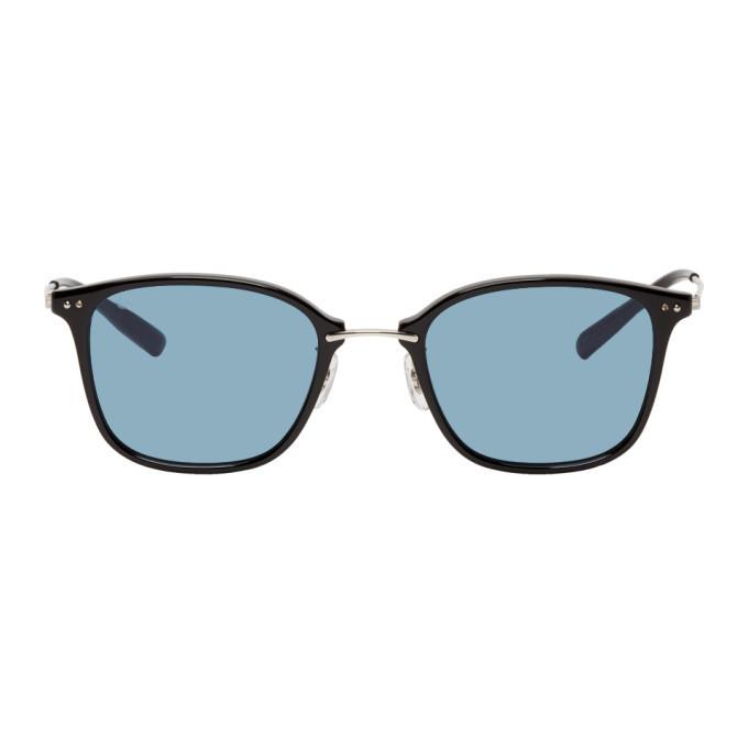 Photo: Eyevan 7285 Black and Blue Macdougal Sunglasses