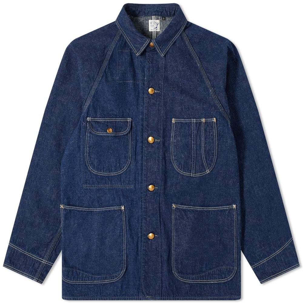 Photo: orSlow 1940s Coverall 4 Pocket Jacket