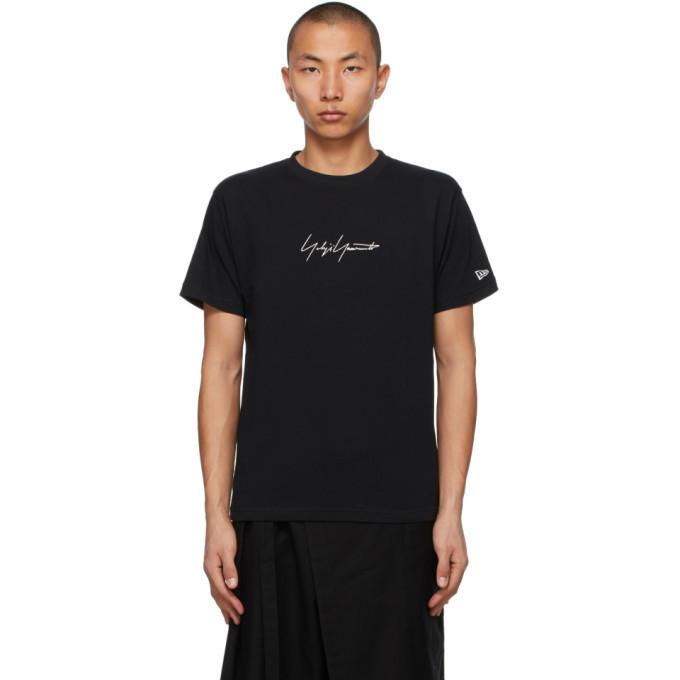 Photo: Yohji Yamamoto Black and White New Era Edition Signature T-Shirt
