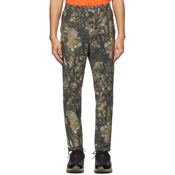 Photo: South2 West8 Khaki Camo Trainer Lounge Pants
