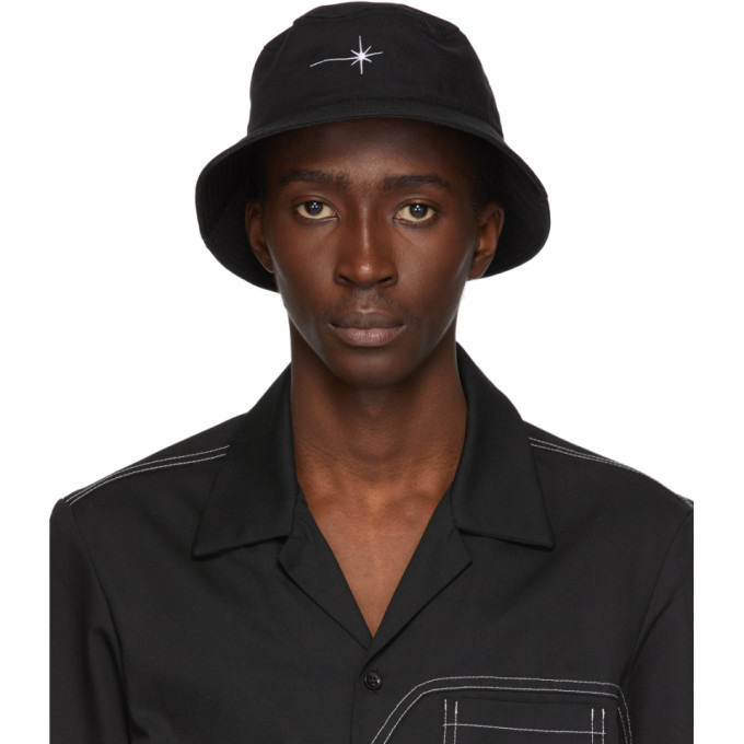EDEN power corp Black Recycled Shining Star Bucket Hat