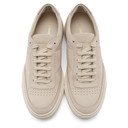 Common Projects Beige Nubuck Resort Classic Sneakers