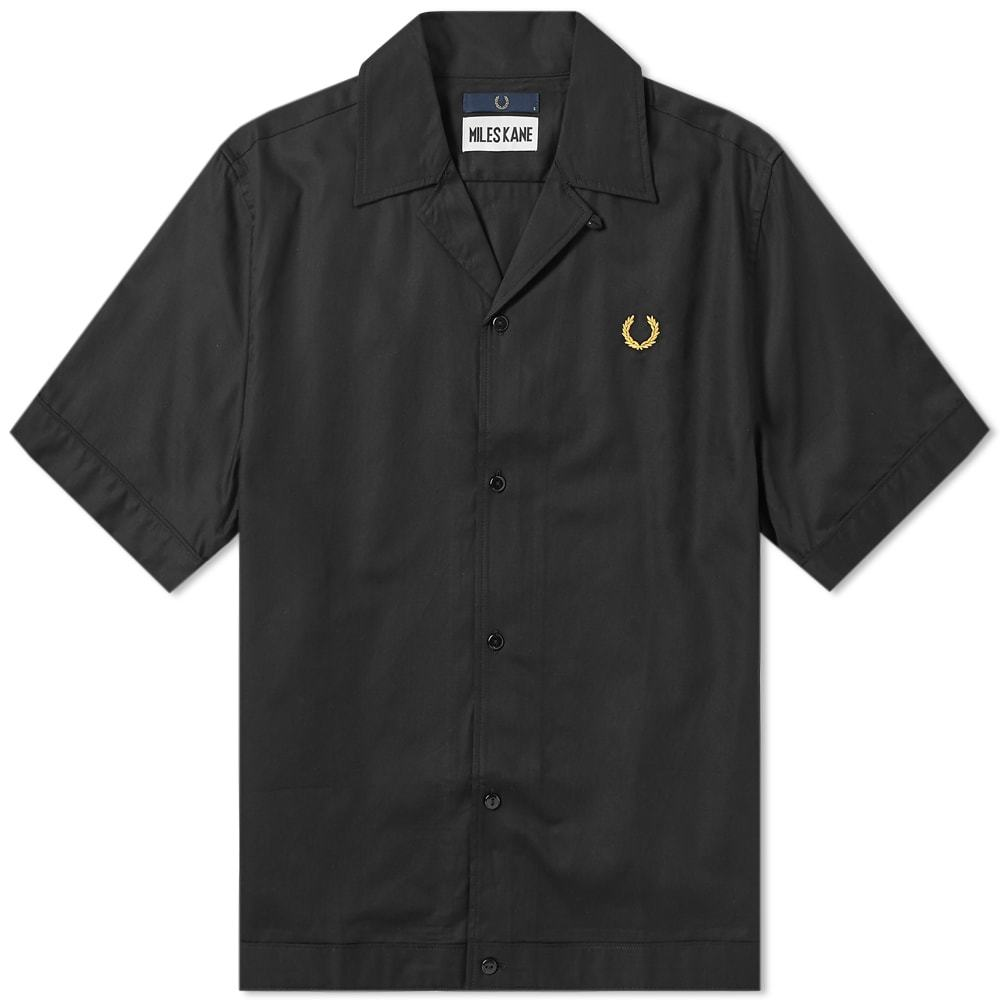 Photo: Fred Perry x Miles Kane Bowling Shirt