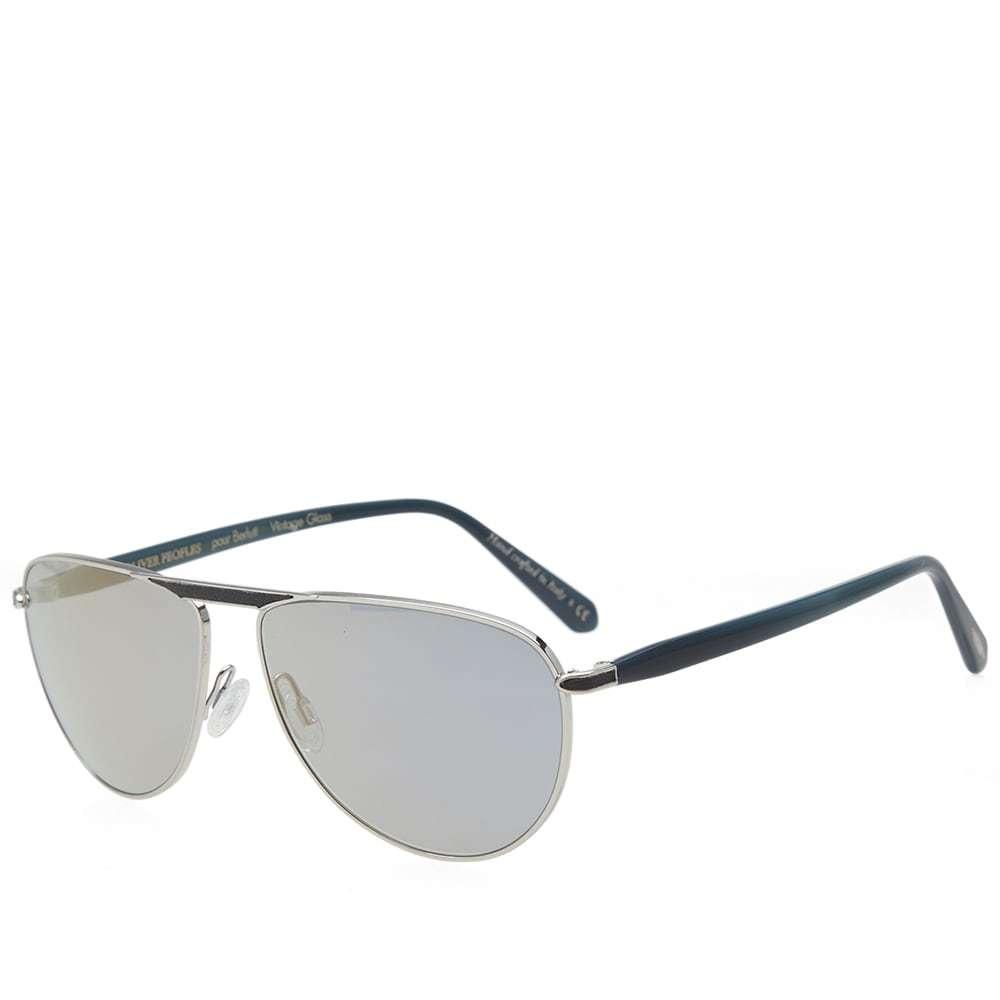 Oliver Peoples x Berluti Conduit Street Sunglasses Silver