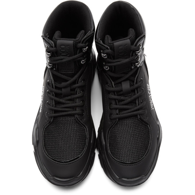 Versace Jeans Couture Black Speed Chunky Sneakers