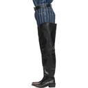 Martine Rose Black Trash Boots