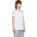 Nina Ricci White Lace Inlay T-Shirt
