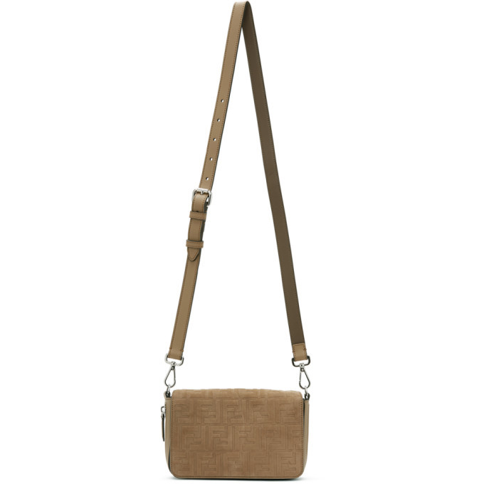 Photo: Fendi Beige Forever Fendi Flap Bag