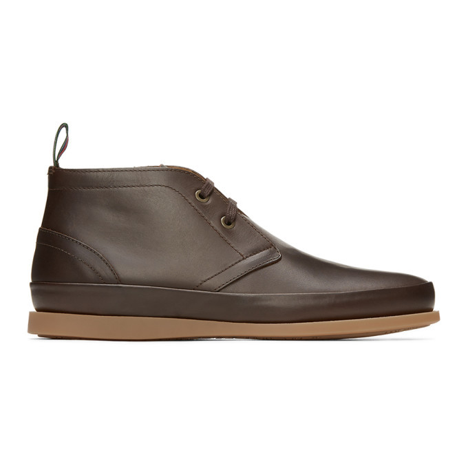 Photo: PS by Paul Smith Brown Cleon Desert Boots
