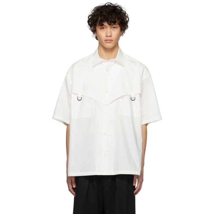Photo: Ambush White Short Sleeve Shirt
