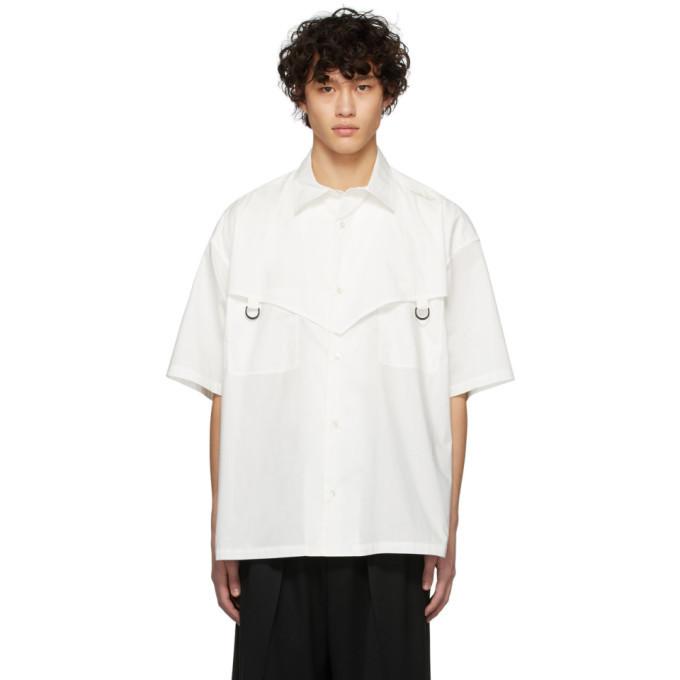 Ambush White Short Sleeve Shirt