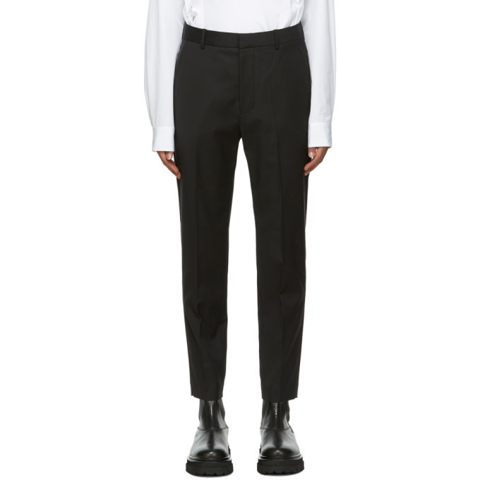 Photo: 3.1 Phillip Lim Black Classic Tapered Trousers