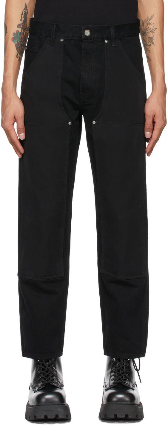 Photo: Helmut Lang Black Utility Jeans