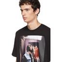 Raf Simons Black Christiane F. Couple T-Shirt