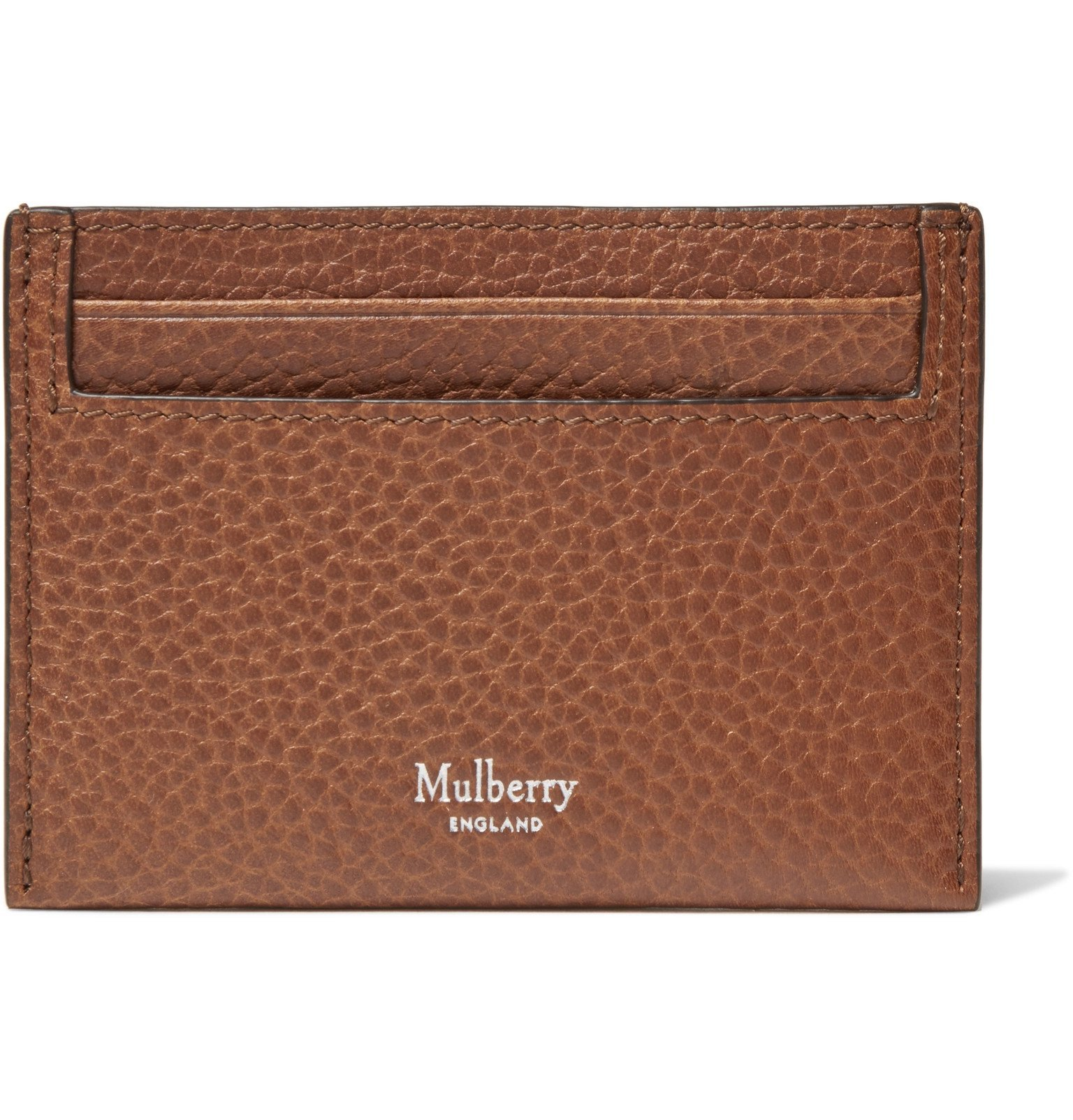 Photo: Mulberry - Full-Grain Leather Cardholder - Brown