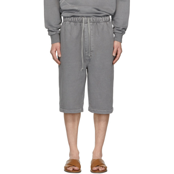 Lemaire Grey Terry Shorts
