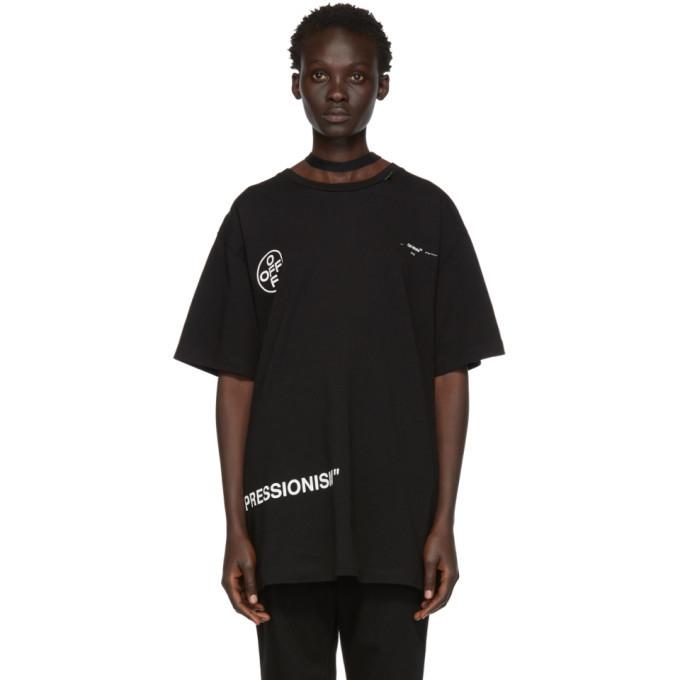 Photo: Off-White Black Stencil Over T-Shirt
