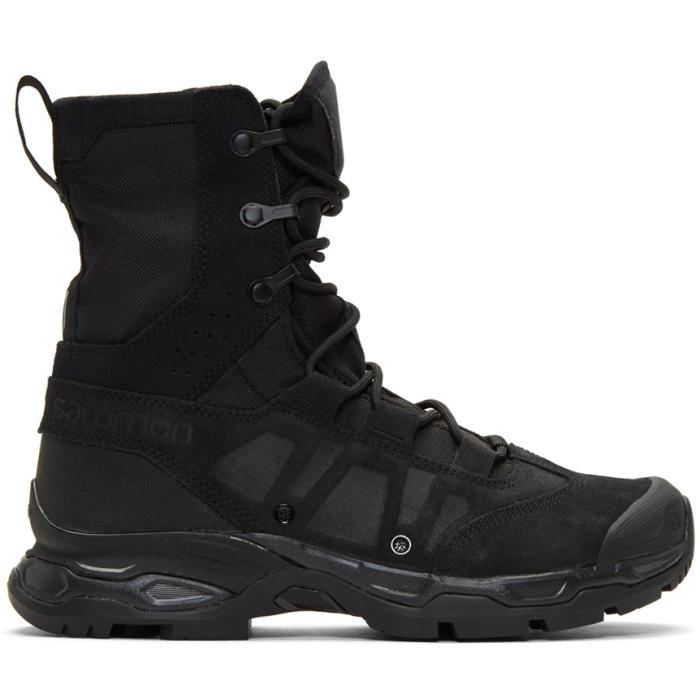 Photo: 11 by Boris Bidjan Saberi Black Salomon Edition Jungle Ultra Boots